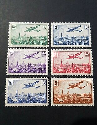 France Timbre Poste Aérienne Pa N°8 A 13 Neuf ** Luxe Mnh Cote 300€