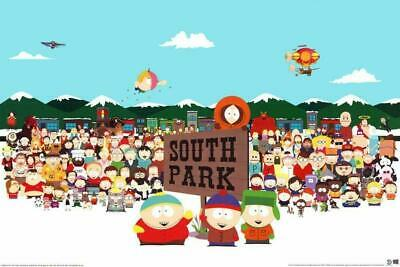 298418 South Park Character Collage Tv Wall Poster Print De