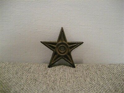 Antique Vintage Cast Iron Architectural 5 Point Star Washer Free Shipping
