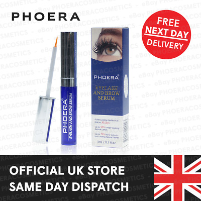 Phoera Eye Brow Lash Growth Serum Thicker Eyebrow Eyelash Enhancing Conditioner