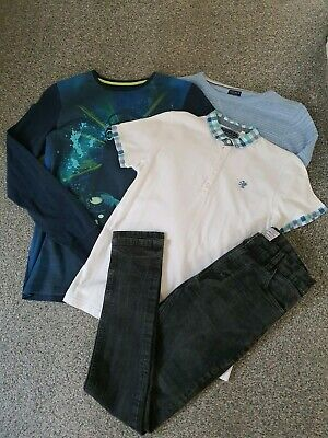 Boys Next Jumper Tops Jeans Bundle  Age 11-12 Years