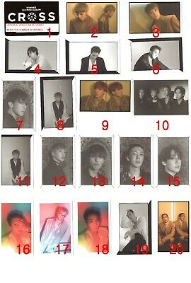 WINNER CROSS Official Original PHOTO CARD PHOTOCARD KPOP YG KOR SELLER