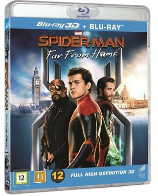Spider Man Far From Home 3D Blu Ray + 2D Blu Ray (Pre-Order)