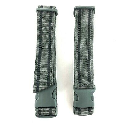 """2 Pack Drop Leg Holster & Pouch Adjustable Leg Strap, Foliage Green, 1.5"""" Thick"""
