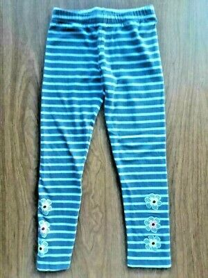 Gymboree Girls' Leggings with Flower Accents, Size 5-6 (Pre-Owned)