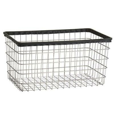 R & B Wire F Large Capacity Basket