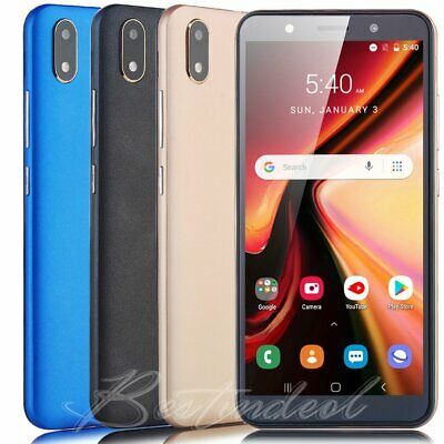 """6"""" Touch Cheap Android 8.1 Cell Phones Unlocked GSM 3G AT&T Smartphone DuaL SIM"""
