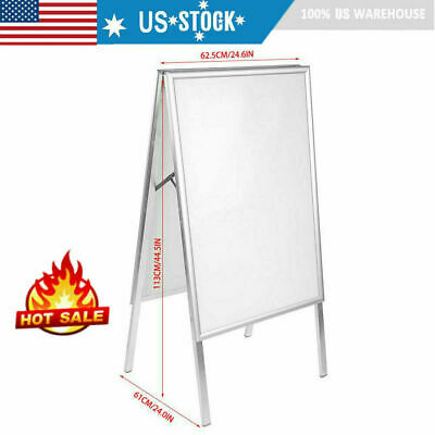 A1 Snap Frame A-Board Pavement Display Double Sided Poster Outdoor Holder Stand