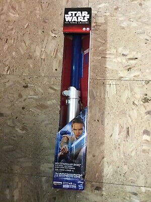 Star Wars The Force Awakens Rey (Starkiller Base) Lightsaber Blue Bladebuilders
