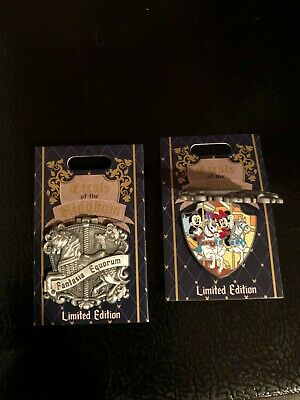 Disneyland Park 2019 King Arthur Carrousel Crests of the KIngdom LE Disney Pin