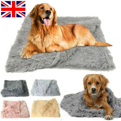 Extra Large Pet Blanket Dog Cat Puppy Soft Fluffy Blanket Cosy Warm Throw Mat UK