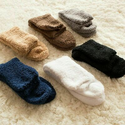6 Pairs Men Women Winter Warm Soft Fluffy Bed Sock Lounge Slipper Fleece Sock