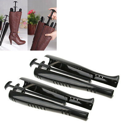 1 Pair Black Plastic Boots Stands Stretchers Shapers Keepers Shoes Tree 48cm