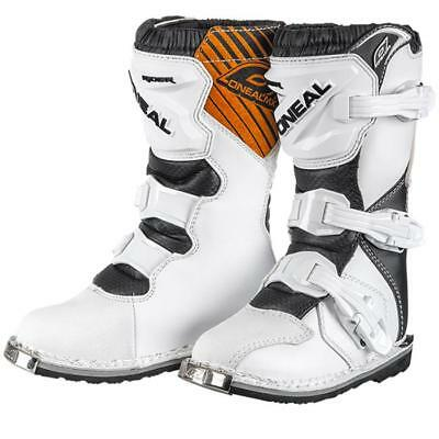 Oneal Kids Straps New Mx Rider Motocross Boot Black 34jAc5LRq