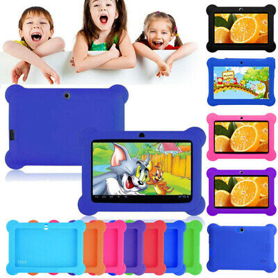 7'' inch HD Tablet PC Android Pad 8GB Dual Camera bluetooth WiFi For Kids Gift