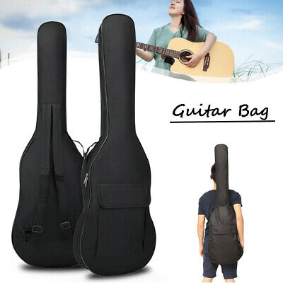 Durable Padded Electric Guitar Bag Soft Case Double Straps Backpack carry case