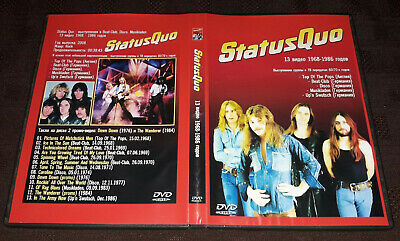 Status Quo - Video Collection 1968-1986 DVD SPECIAL FAN EDITION