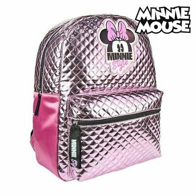 Cartable Minnie Mouse Rose
