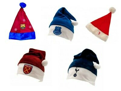 Football Team Santa Hat - Soccer Christmas Gift Official Presents