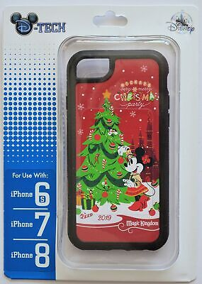 Disney Parks Minnie Mickey's Very Merry Christmas Party 6s/7/8 Phone Case NWT