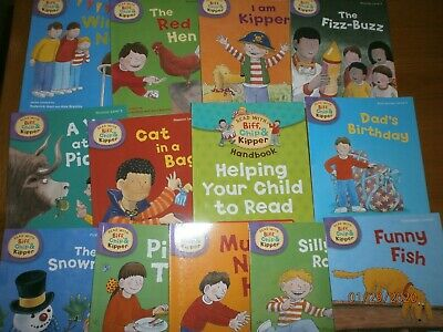 Oxford Reading Tree Read With Biff Chip & Kipper LEVEL 2 Phonics First Stories