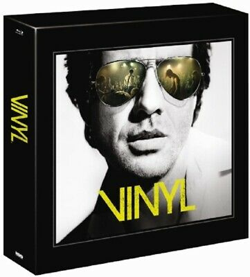 Vinyl The Complete First Season Collectors Edition 4-Disc Blu Ray + Soundtrack