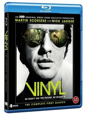 Vinyl The Complete First Season 4-Disc Blu Ray