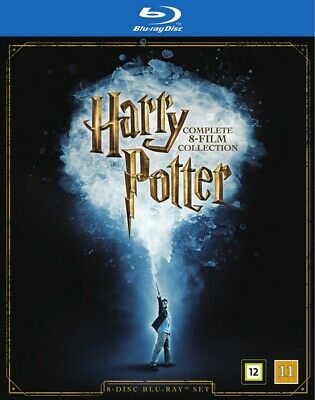 Harry Potter 8 Film Collection Blu Ray