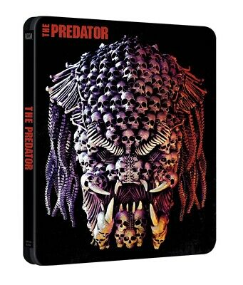 The Predator (2018) Limited Edition Steelbook Blu Ray