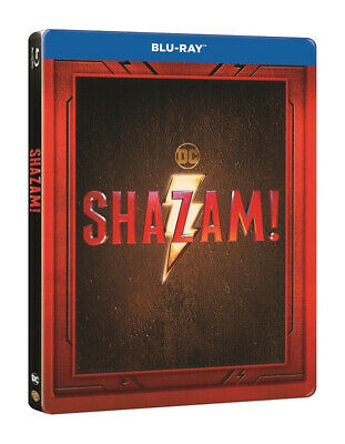 Shazam Limited Edition Steelbook Blu Ray