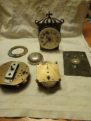 Clock Parts For Spares Or Repairs