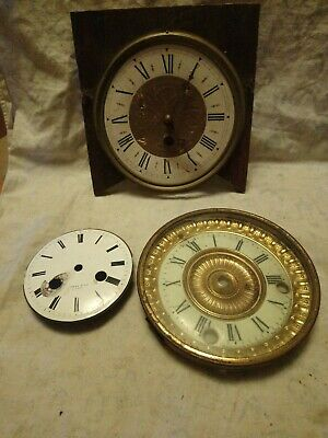 French Clock Parts For Spares