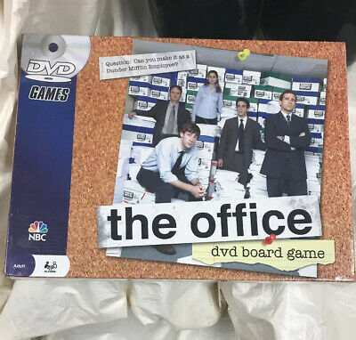 NEW SEALED 2008 The Office DVD Trivia Board Game