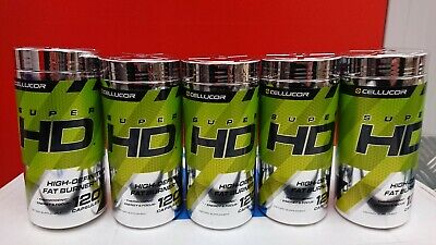 Cellucor Super HD Thermogenic Fat Burner Supplement 120 Capsules, Weight Loss.