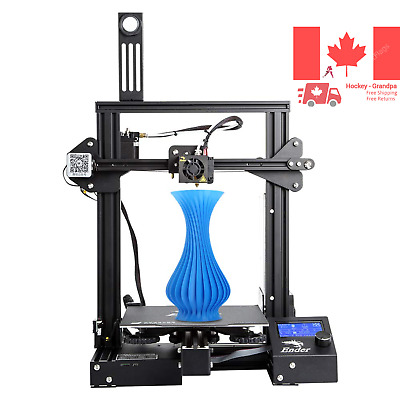 Creality Ender 3 Pro 3D Printer with Removable Build Surface Plate and UL Cer...