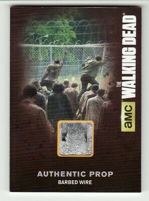 The Walking Dead Season 4 Part 1 Barbed Wire Authentic Prop #M11 Ssp