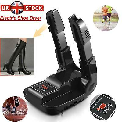 Electric Shoe Dryer Gloves Smart Boot Warmer w/ He  at Blower & Rack & Timer UK