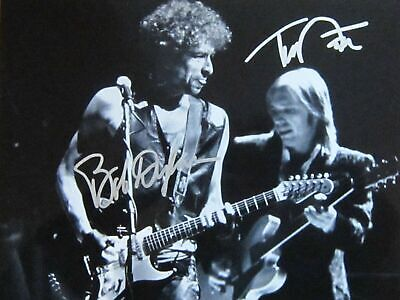 Bob Dylan / Tom Petty Autographed Signed 8x10 Photo REPRINT