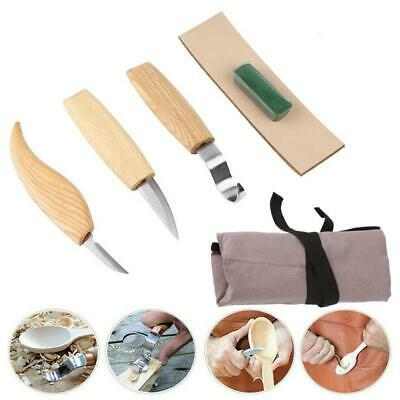 6pcs Wood Carving Knives Set Woodworking Hand Tool Whittling