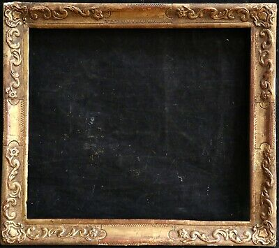 19th CENTURY GILDED FRENCH PICTURE FRAME - FITS 11.5 x 13 INCH WORK