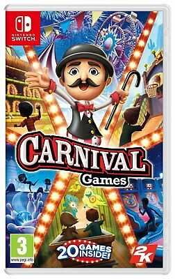 Carnival Games Nintendo Switch Game 3+ Years