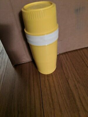 Playskool Tommee Tippee VINTAGE Babytainer YellowThermos Bottle Insulator