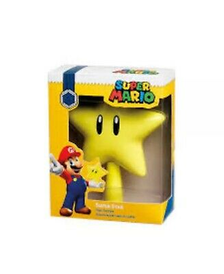 Nintendo Super Mario SUPER STAR Yellow Christmas Holiday Video Game Tree Topper