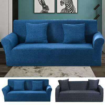 1/2/3 Seater Sofá Elástico Cubiertas Slipcover Stretch Couch Protector
