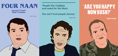 PEEP SHOW Quotes Comedy Posters A5, A4, A3, A2 High Quality + Glossy 200gsm