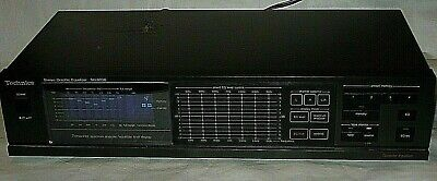 Vintage Technics SH-8036 STEREO GRAPHIC EQUALIZER Made in Japan