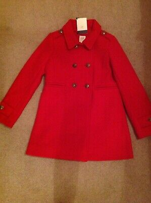 Girls Gap Coat 7-8 New with tags