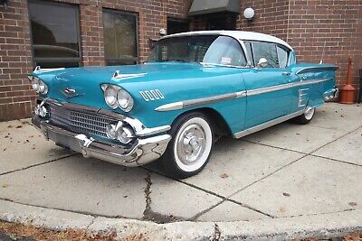 1958 Chevrolet Impala - 348 3x2 1958 Chevrolet Impala 348 Tri Power 3x2 bel air biscayne delray Air conditioning
