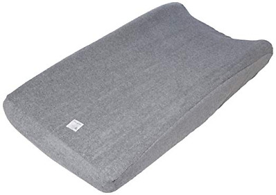 Burt's Bees Baby Changing Pad Cover Super Absorbent Knit Terry,100% Organic Grey
