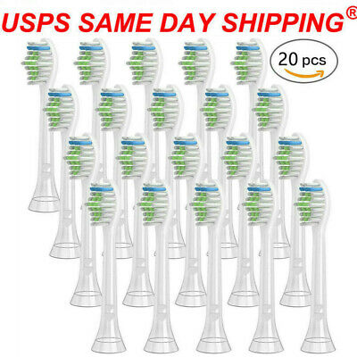 20 X Tooth Brush Heads Fit For HX6064 Philips Sonicare Diamond Replacement Heads